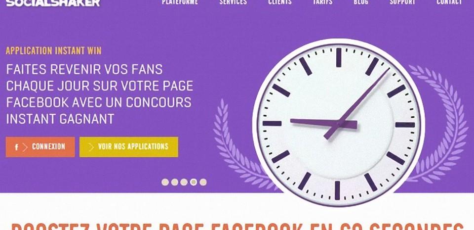 SocialShaker, pour animer efficacement une page Facebook