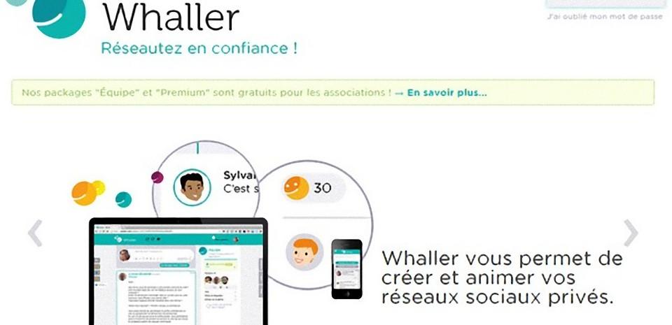 Whaller, le réseau social sur mesure pour réseauter en confiance