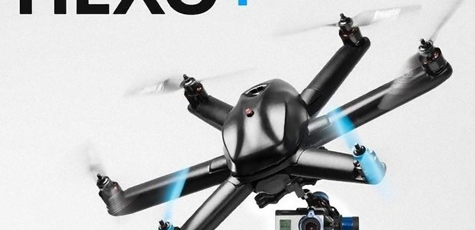 Hexo+, le futur drone caméraman à piloter avec son smartphone