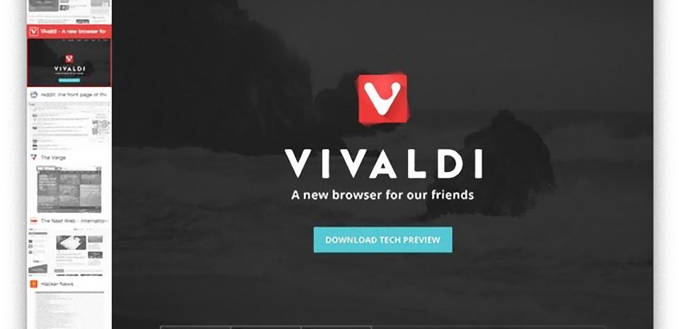 Vivaldi, le navigateur Internet pour les utilisateurs intensifs
