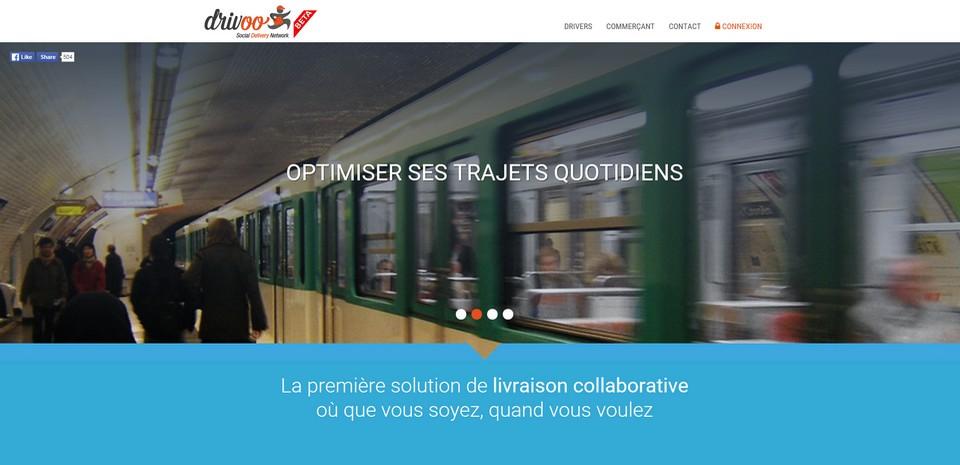 Drivoo, la solution urbaine de livraison collaborative