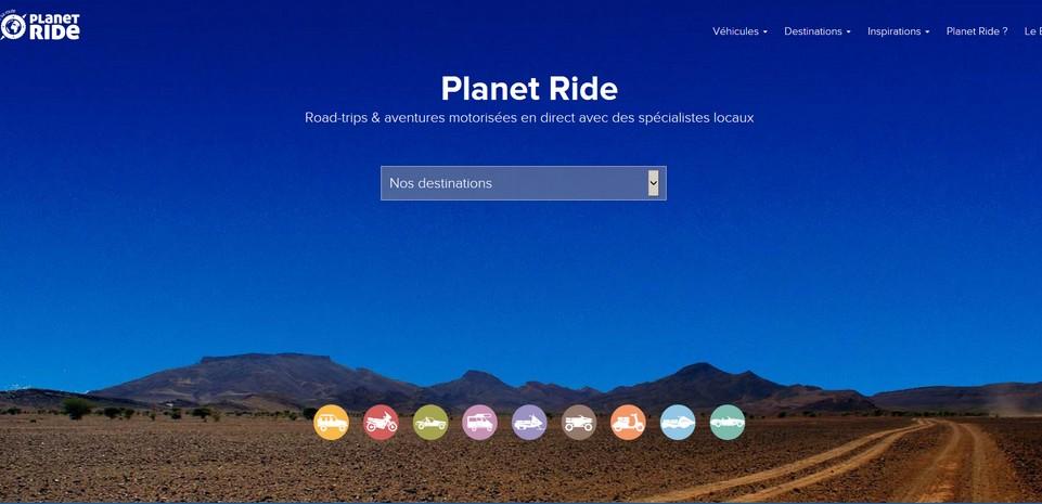 Planet Ride, le nouveau site de réservation pour les amateurs de roadtrip