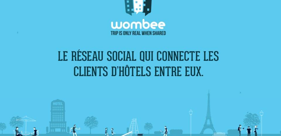 Wombee, la plateforme sociale au service des voyageurs et des hôtels