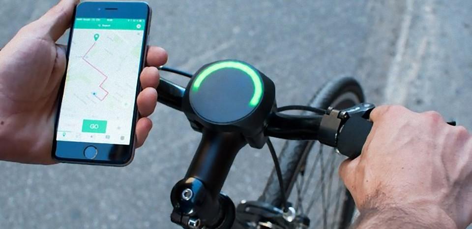 SmartHalo, l'objet intelligent au guidon de votre vélo