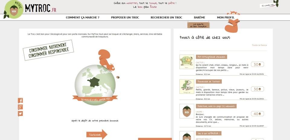 MyTroc.fr, consommer autrement n'est plus une économie marginale