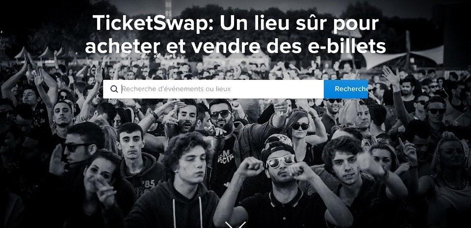 TicketSwap, la revente légale et attractive de e-billets