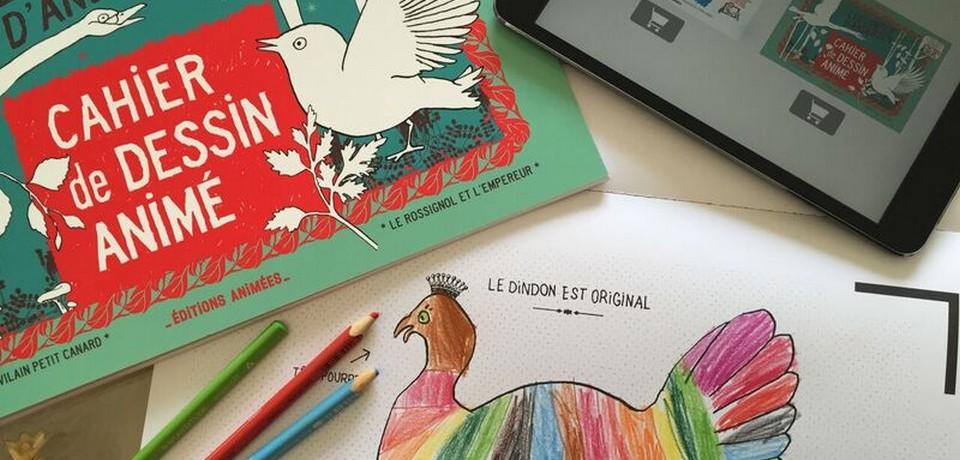 Les Editions Animées, une app et un album qui donnent vie aux coloriages des enfants