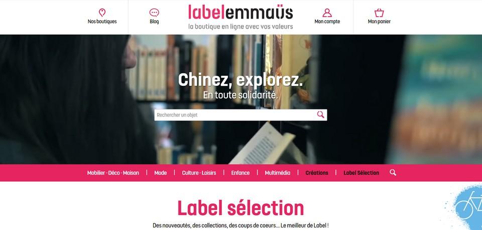 Label Emmaüs, une nouvelle façon de consommer e-solidaire