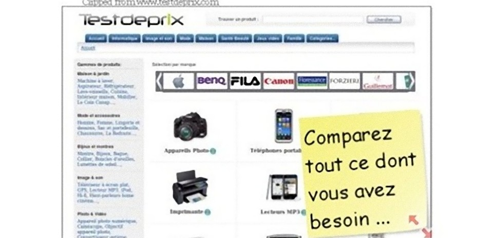 Outil de capture d'écran en ligne