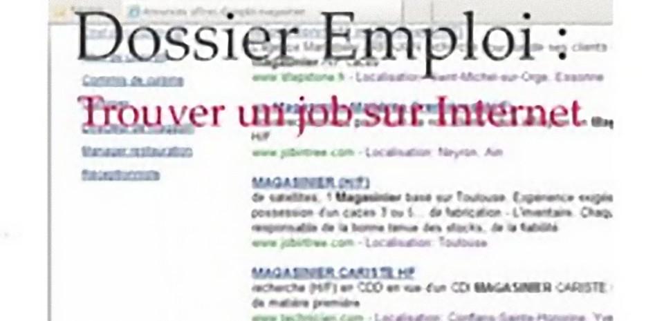 Recherche d'emploi sur Internet