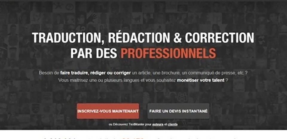 TextMaster, une plateforme de traduction et services rédactionnels multilingues