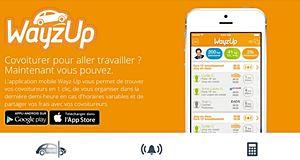Wayz-Up, une appli pour faciliter le covoiturage au travail
