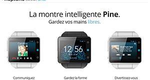 Neptune Pine, la montre intelligente et hyper connectée