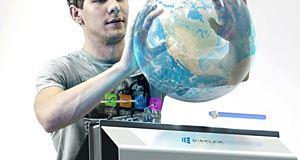 DisplAir, l'écran holographique  à reconnaissance gestuelle