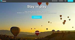 Buzeo, une nouvelle version entre réseau social et site de streaming