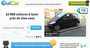 OuiCar, l'irrésistible ascension du site de location de voitures