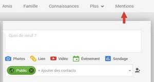 Mentions sur Google+, une aide en temps réel à l'évaluation qualité