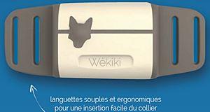 Wékiki, le collier connecté pour garder un oeil sur votre chien