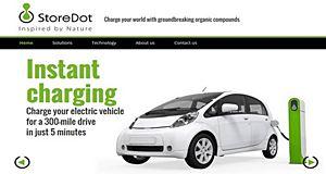 StoreDot, la batterie flash pour les smartphones et les véhicules électriques