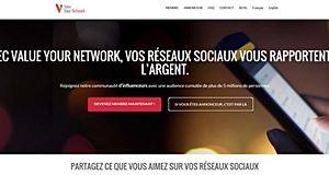 ValueyourNetwork, un site pour monétiser votre audience sur vos réseaux