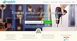 Article startups: Needelp, le site d'aide entre