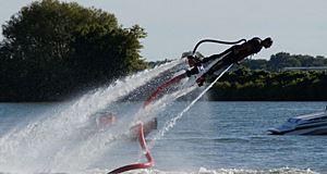 Flyboard, l'envol mondial d'un sport spectaculaire