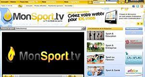 Retrouvez tous les sports sur Monsport