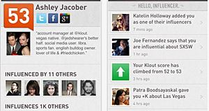 Klout - analyse votre influence sur les réseaux sociaux