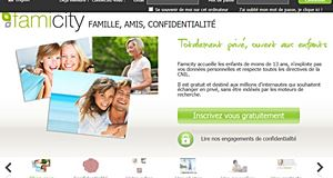 Famicity, a secure social network to communicate with the family