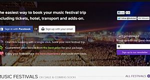 Festicket, the platform for music festival travel packages