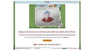 Les aventures de Loulou, un site éducatif pour les enfants