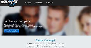 MyCVFactory, pour faire la différence face aux recruteurs