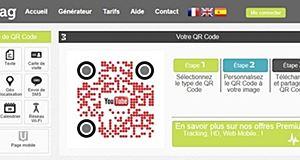 Un nouveau générateur de QR Code ultra design, Unitag.fr