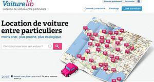 La location de voitures entre particuliers avec VoitureLib