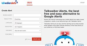 TalkWalker, un puissant outil de veille et d'Alertes