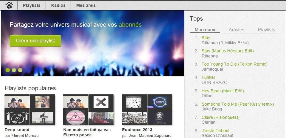 Dessbox, la musique gratuite et sans pub !