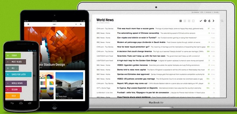 Feedly - A very attractive alternative to Google Reader