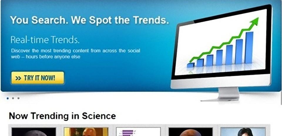 Un moteur de recherche pour une veille efficace en temps réel, TrendSpottr