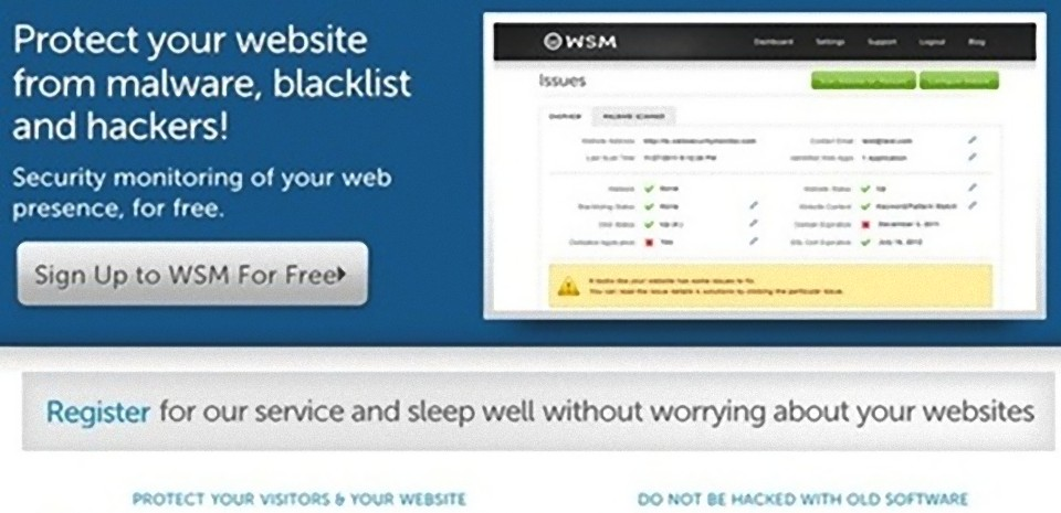 Surveiller simplement et gratuitement la sécurité de vos sites web