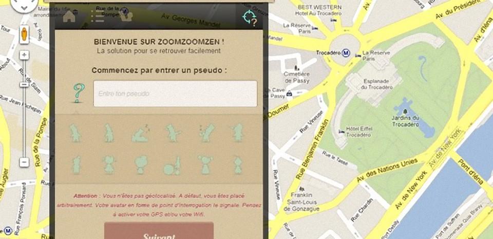 ZoomZoomZen, la géolocalisation utile et sans flicage
