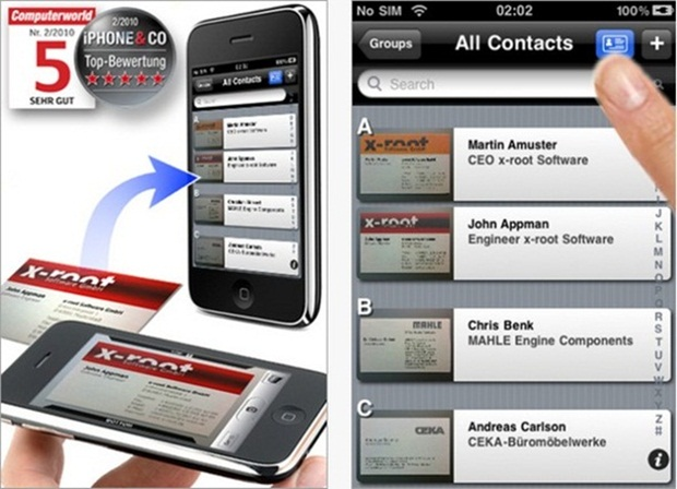 95 Application Mobile Carte De Visite